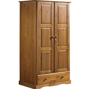 Searching for Locking Wood Wardrobe Closet