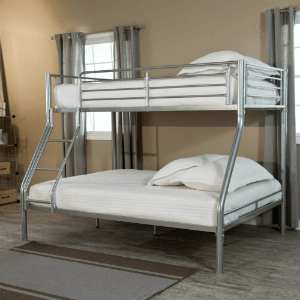 Metal Twin Full Bunk Bed