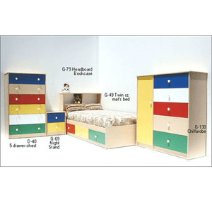 Custom Made Juvenile Bedroom Sets
