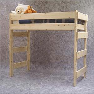 Unfinished Loft Beds