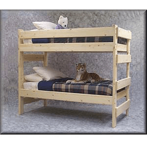 Unfinished Bunk Beds