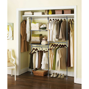 Mainstays Custom Closet Organizer Kit 007432893 Wfs60