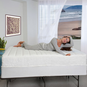 10 In. Memory Foam and Spring Hybrid Mattress HBM-1000T(WFS)