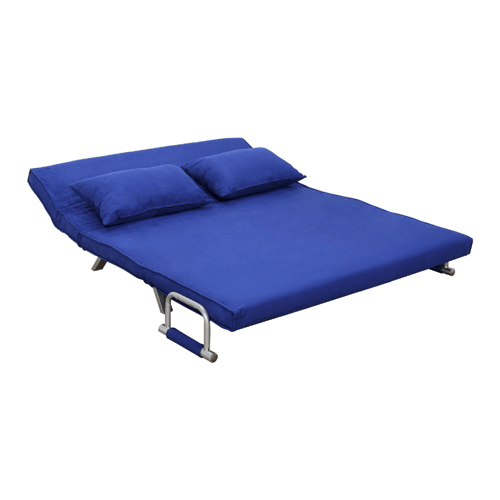 Fabulous Homcom 61 Folding Futon Sleeper Couch Sofa Bed Weight Capacity 300 Lbs Unemploymentrelief Wooden Chair Designs For Living Room Unemploymentrelieforg