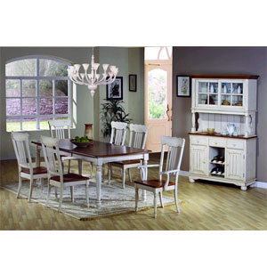 7 Pc.  Classic Country Dining Set 100600/02/03 (CO)