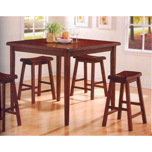 5 Pc Bar Table And Stools Set 1500_1 (CO)