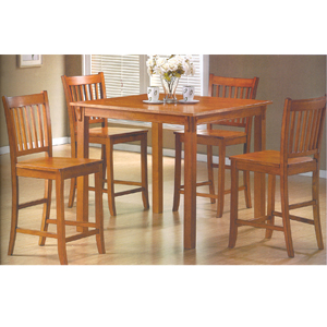 5 Pc Counter Height Dining Set 150081 (CO)