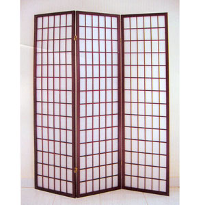 3 Panel Cherry Finish Screen 1683CH(AD)