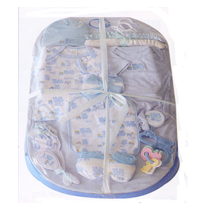16 Piece Layette Bath Tub Gift Set 250(DM)