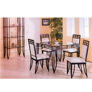 5-Piece Matrix Style Dining Set 2200/22/CB4242 (PJ)