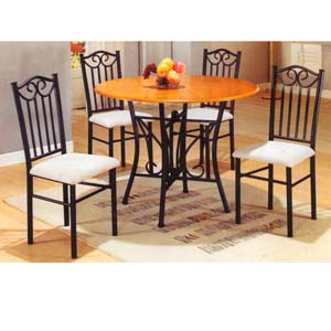 5-Piece Dining Set 2231S/2231C (PJ)