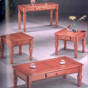 3-Piece Coffee End Table Set 290_(WD)