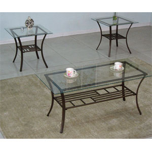 3-Pc Pack Occasional Table Set 2998 (WD)