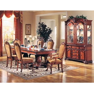7 Pcs Solid Wood Venezia Dinning Room Set 30500(ML)