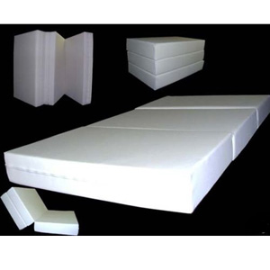 6 In Thick Twin Size Trifold Foam Beds