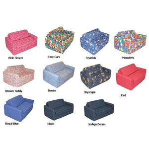 38-Inch Twin Childrens Sofa Sleeper 32_4200_(AFAFS40)