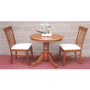 3-Pc Solidwood Bistro Set 352_/543_(SB)
