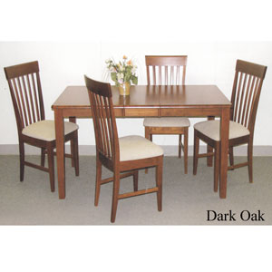 5-Pc Shaker Table And Chair Dining Set 374_/574_(SB)