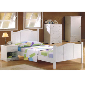 Princess Collection Twin Bed 400041T (CO)