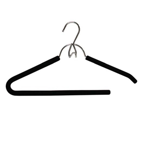 2 Pk. Foam and Chrome Add-On Pant Hanger 4149 (KDY)