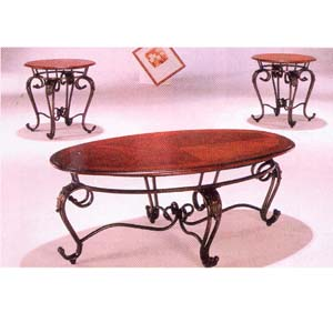 3 Pc Coffee/End Table Set 4215 (ABC)