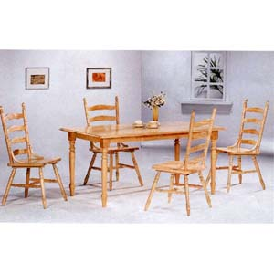 5-Pc All Natural Dinette Set 4361/4702 (CO)
