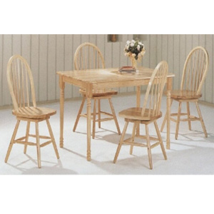 5-Pc All Natural Dinette Set 4361/4072 (CO)