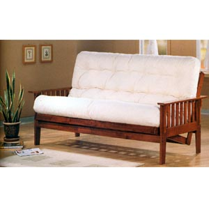 Dirty Oak Finish Futon Frame 4382 (CO)