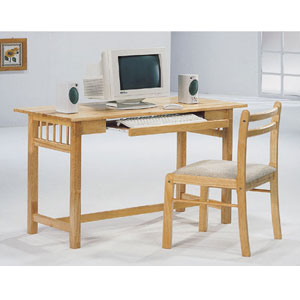 2-Pc Computer Table And Chair Set 4404 (CO)