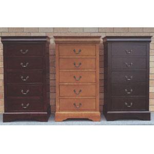Solid Wood 5 Drawer Dresser 4535 Ml