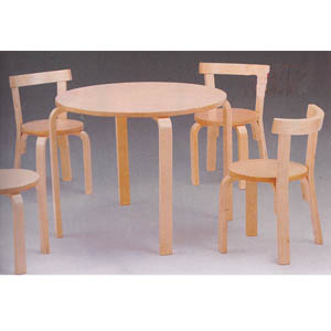 5-Pc Set In Natural Wood Finish 460195 (CO)