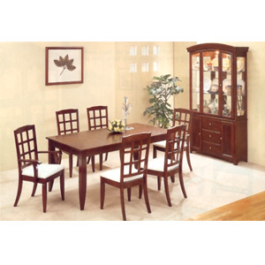 7-Pc Cherry Finish Dinette Set 4746-47 (CO)