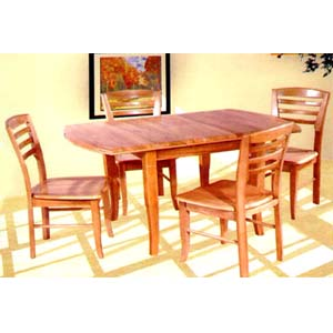 5-Pc Dinette set In Natural Finish 4752/85 (TOP)