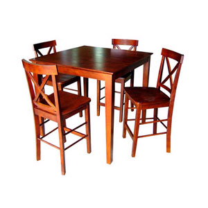 5-Pc Counter Height Dining Set 4812 (WD)