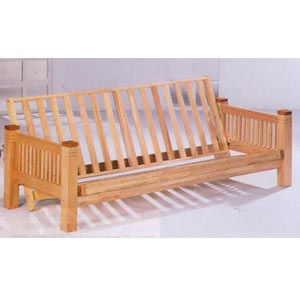 Natural Finish Futon Frame 4845 (CO)
