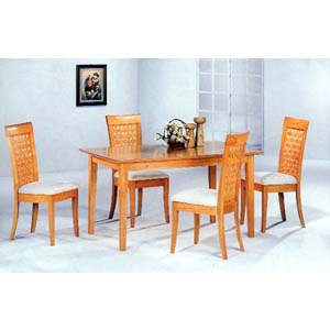 5-Pc Dinette Set In Maple Finish 4856-57 (CO)
