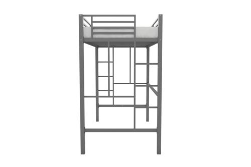 Twin Metal Loft Bed 550404687 225 Lbs Weight Capacity