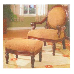 Accent Chair w/Ottoman 5608 (ABC)