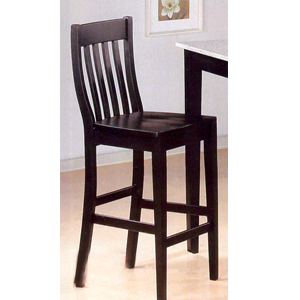"29""H Black Finish Bar Stool 5869 (CO)"