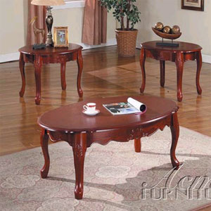 3-Pc Pack Windham II Coffee/End Table Set 6154 (A)