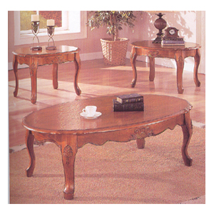 3 Pc Coffee/End Table Set 6155 (A)