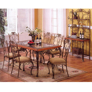 5-Pc Richmond Dining Set 6281-40/50 (WD)