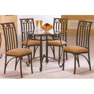 5-Pc Candace Dining Set 6299-45/50 (WD)