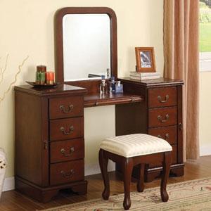 Louis Philippe Bedroom Vanity Set 6565/6566 (A)