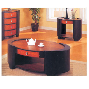 Occasional Tables In Two Tone Finish 70042_ (CO)