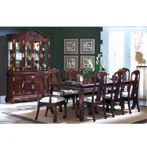 9-Piece Emporium Cherry Dinette Set 7111 (A)