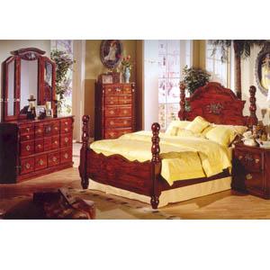 Dark Pine Bedroom Set CM7570C_(IEM) - More Than A Furniture ...