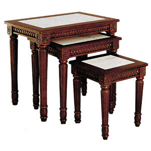 3-Pc Nesting Table Set 8038WN_(ITM)