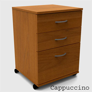 3-Drawer Mobile File Cabinet  _092 (NXFS)