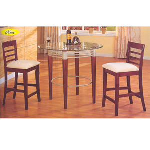 3 Pc Counter Height Set 8141/8139 (A)